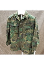 U.S. SURPLUS U.S. VINTAGE USMC WOODLAND SHIRT SMALL/REG
