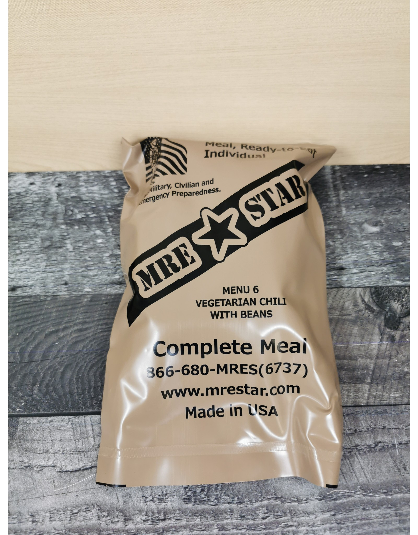 NORTH SYLVA MRE (MEALS READY TO EAT)