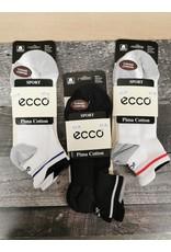 ECCO ECCO PIMA COTTON SPORT SOCKS-MEN'S 8-12