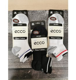 ECCO ECCO PIMA COTTON SPORT SOCKS-MEN'S 8-12