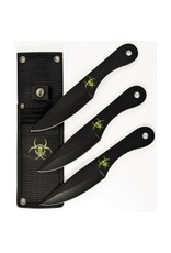 RUKO KNIVES END OF DAYS THROWING KNIFE SET