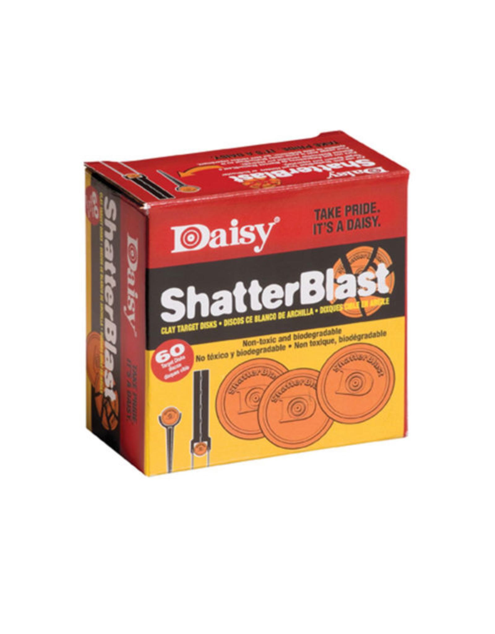 DAISY SHATTER BLAST CLAY TARGETS (60 ct.)