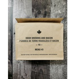 SURPLUS /GOLDEN PLAZA IMP CANADIAN INDIVIDUAL MEAL PACK - BREAKFAST