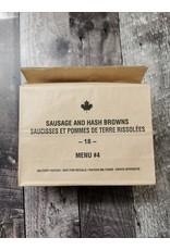SURPLUS /GOLDEN PLAZA IMP CANADIAN INDIVIDUAL MEAL PACK - BREAKFAST