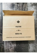 SURPLUS /GOLDEN PLAZA IMP CANADIAN INDIVIDUAL MEAL PACK- SUPPERS