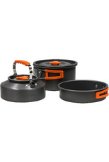 WORLD FAMOUS SALES HIKER 6 PIECE COOK SET