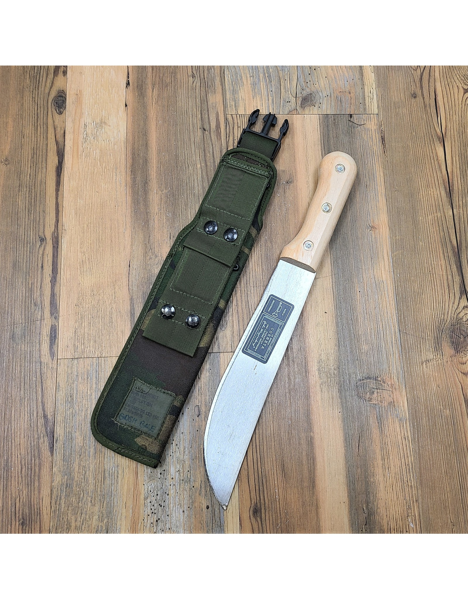 MAJOR SURPLUS MACHETE W/ BRITISH SHEATH