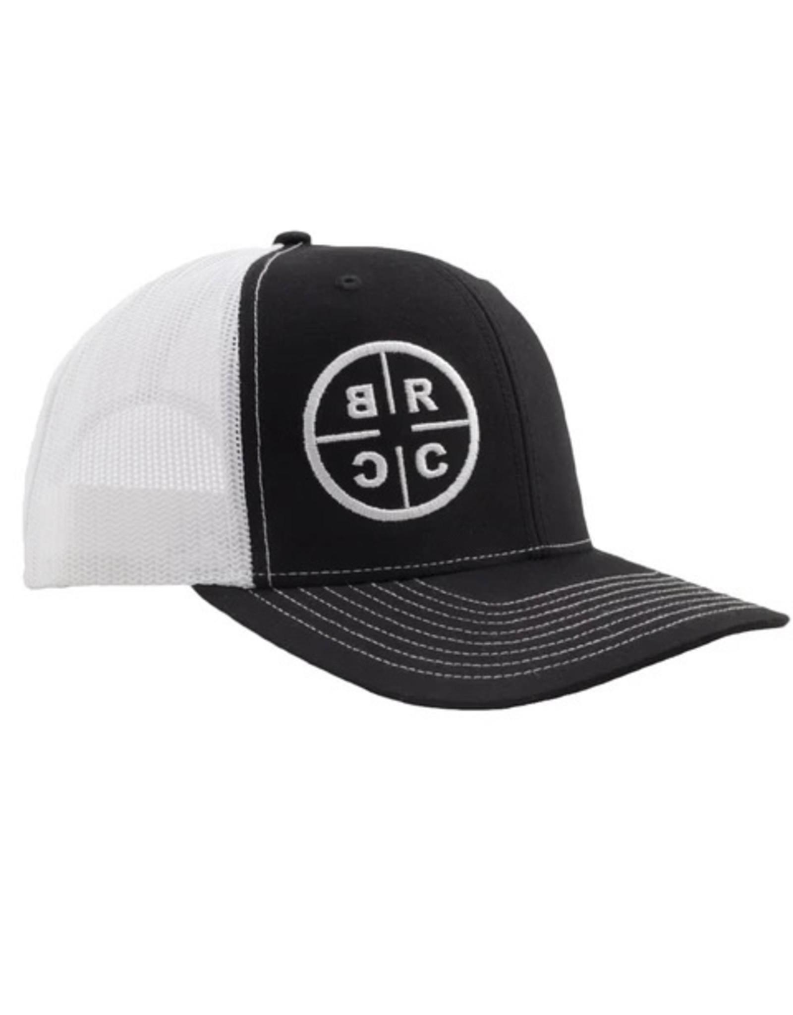BLACK RIFLE COFFEE BRCC TRUCKER CAP BLK/WHT