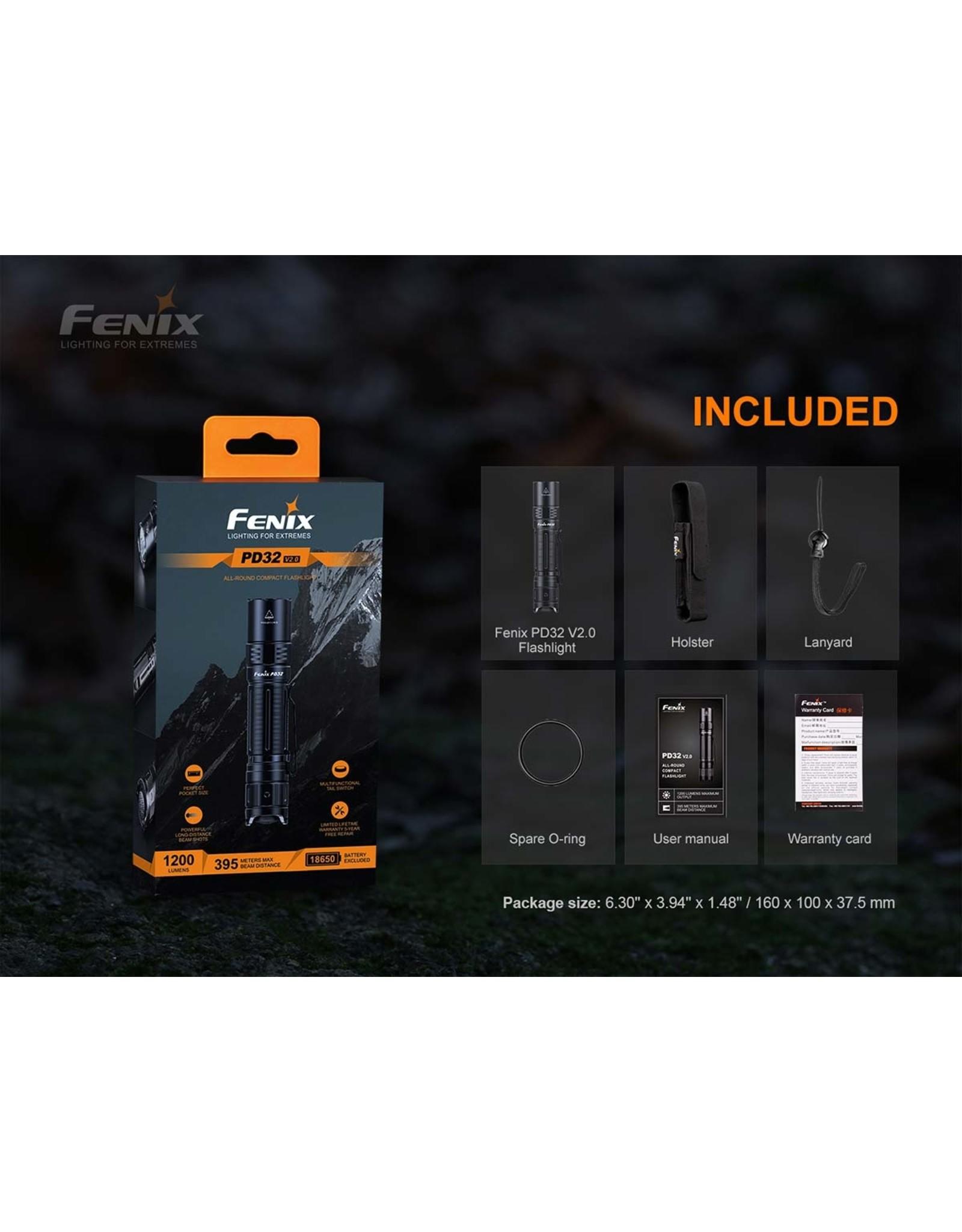 FENIX PD32 V2.0 FLASHLIGHT