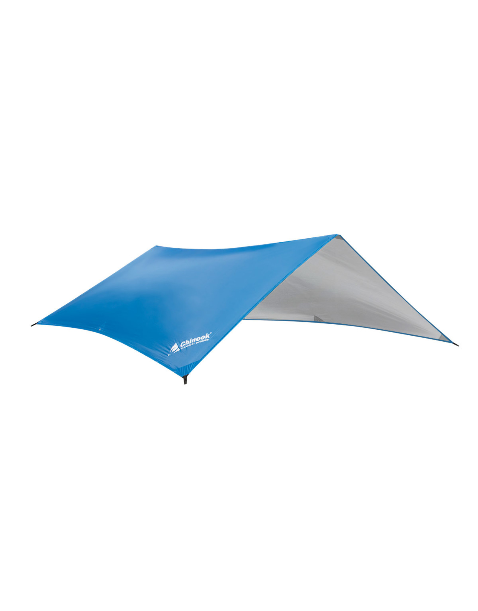 """CHINOOK TECHNICAL OUTDOOR GUIDE SILVER COATED TARP 9'10""""X12'10"""""""