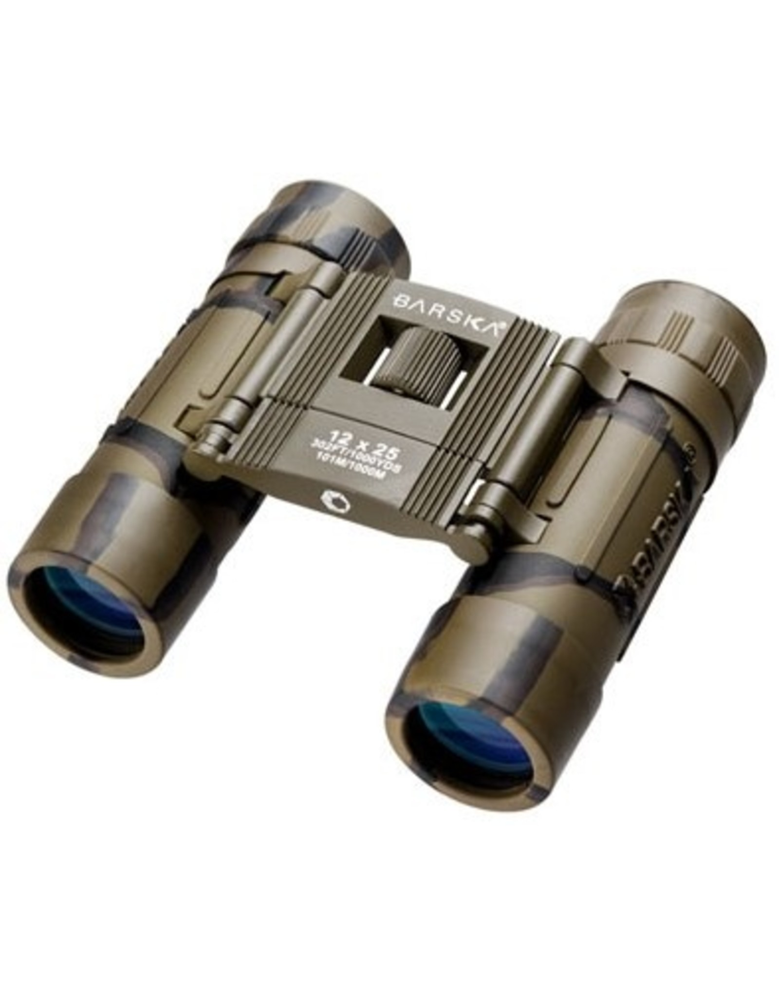 BARSKA OPTICS 12X25 LUCID VIEW COMPACT BINOCULARS