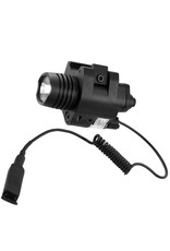 BARSKA OPTICS RED LASER WITH 200 LUMEN FLASHLIGHT