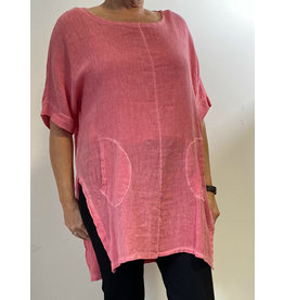 PLUM LOCO 1980 TUNIC STONEWASHED TOP