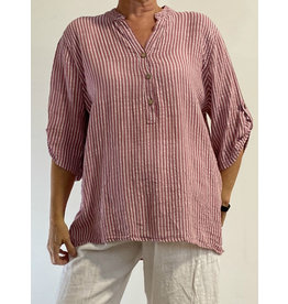PLUM LOCO 1217 STRIPED  SHIRT