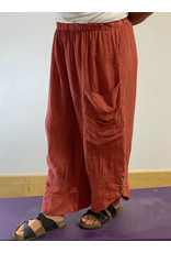 PLUM LOCO 3192 POCKETED CASUAL PANTS