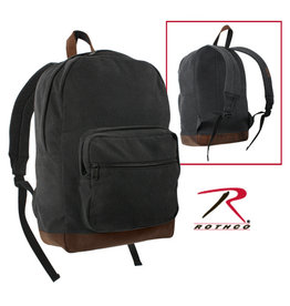 ROTHCO Canvas Teardrop Pack W/ Leather Accent - 9667