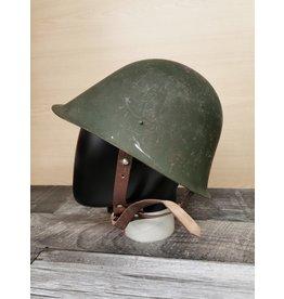 STURM MILSPEC ROMANIAN M73 STEEL HELMET USED