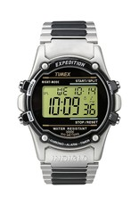 TIMEX DIGITAL EXPEDITION WATCH W/STAINLESS STRAP