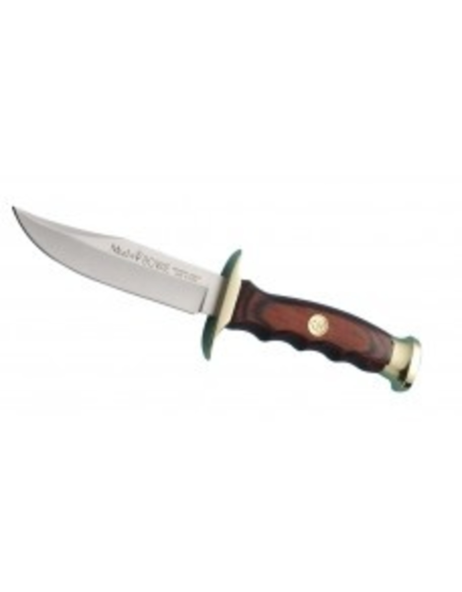MUELA BW-10 BOWIE KNIFE WITH CORAL  PAKKAWOOD HANDLE