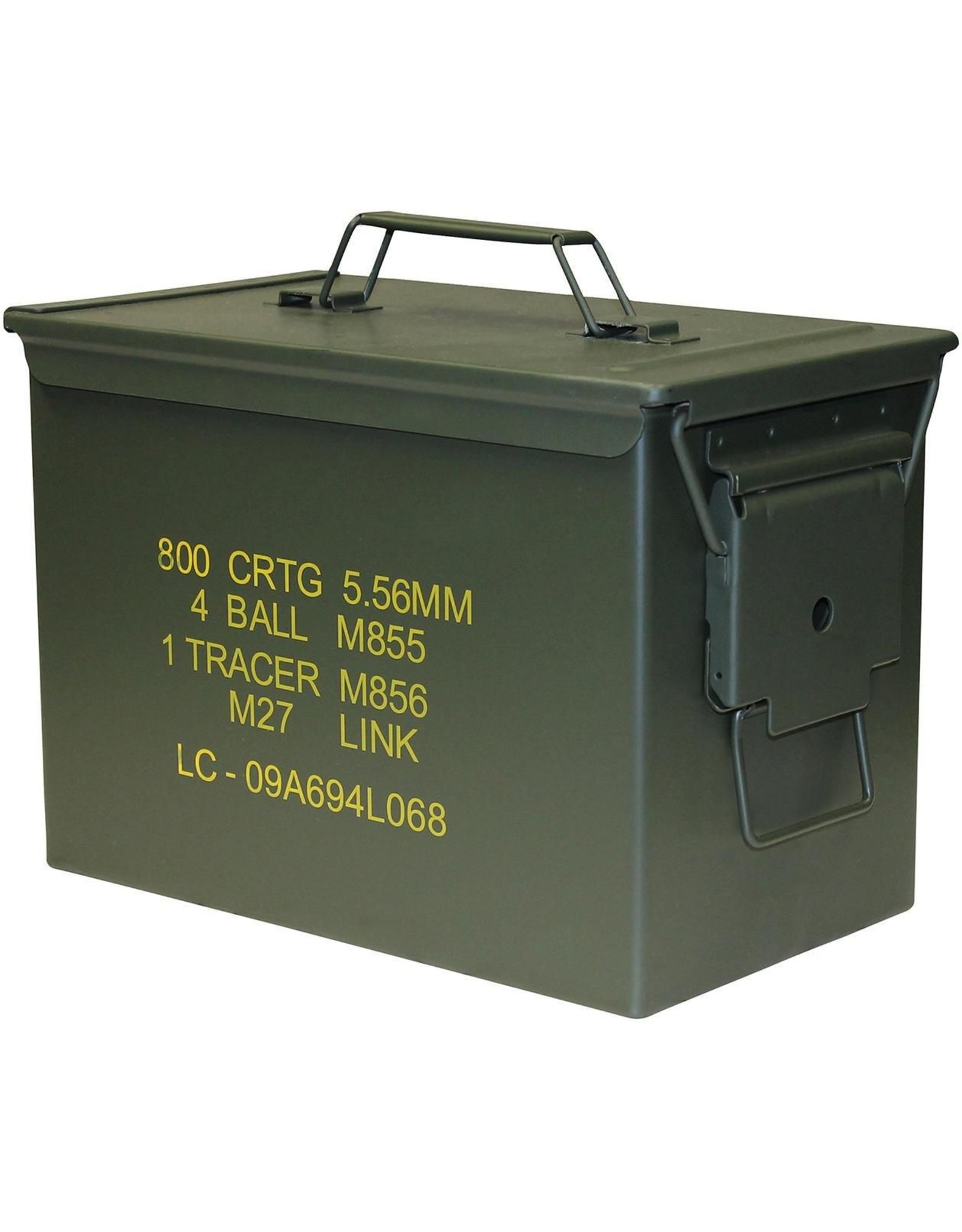 WORLD FAMOUS SALES .50 CAL AMMO BOX -NEW