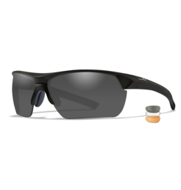 WILEY X GUARD ADVANCED INTERCHANGEABLE THREE-LENS SYSTEM