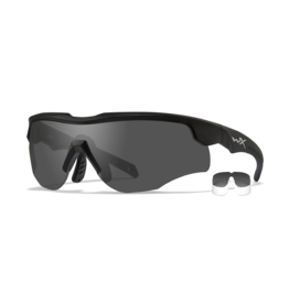 WILEY X WX ROGUE GREY/CLEAR/MATTE BLACK FRAME