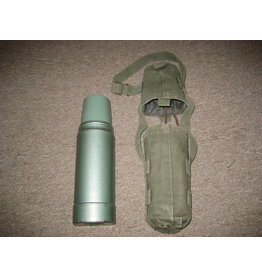 CANADIAN SURPLUS THERMOS AND COVER SET