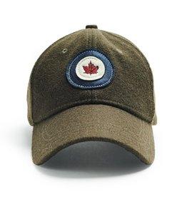 RED CANOE RCAF WOOL CAP-KHAKI