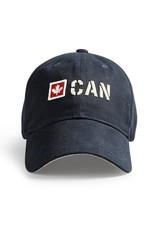 RED CANOE CANADA STENCIL CAP-NAVY