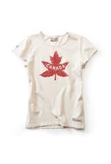 RED CANOE LADIES CANADA HERTIAGE T-SHIRT