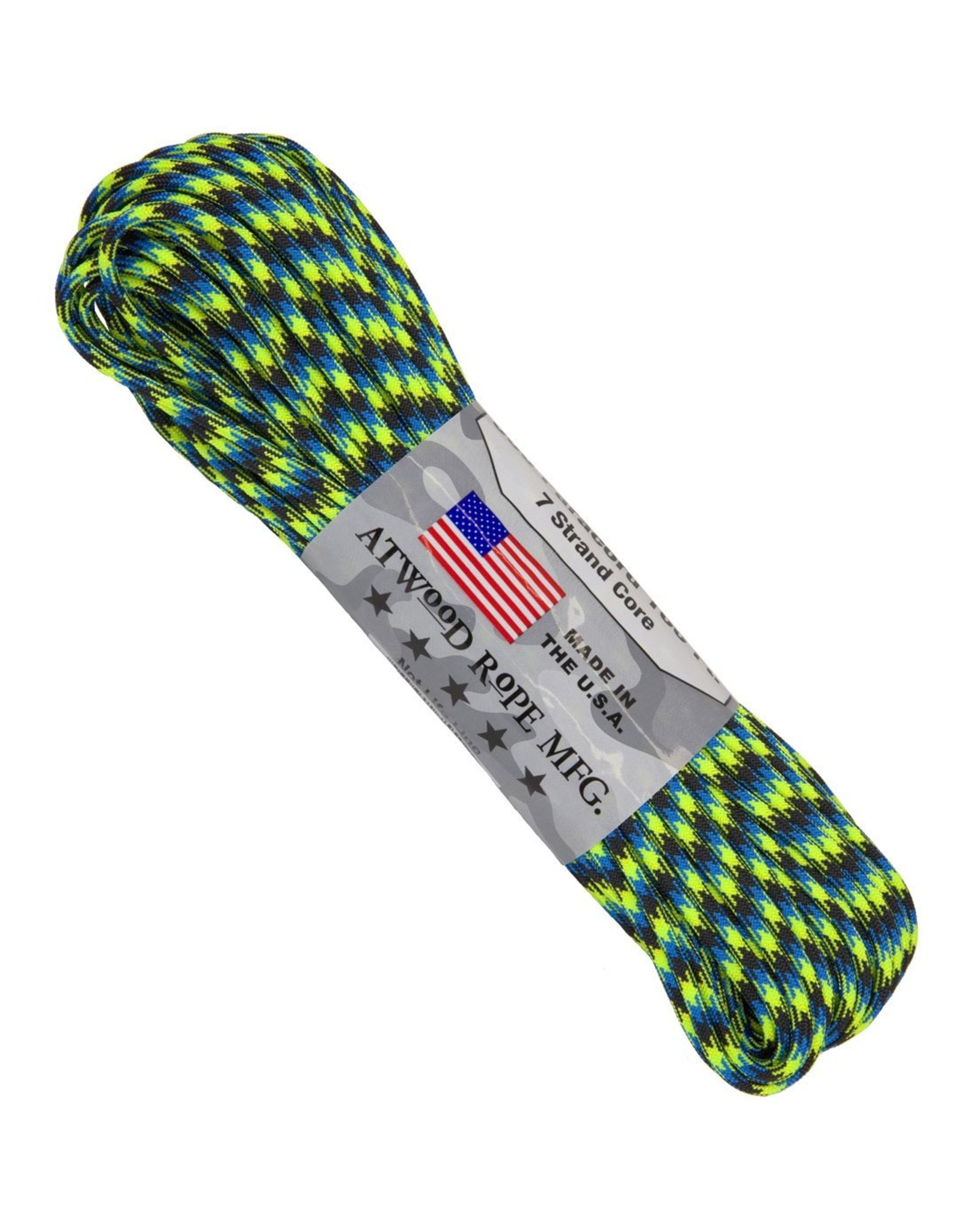 ATWOOD ROPE MFG PARACORD! RANDOM COLOURS