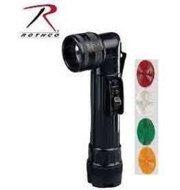 ROTHCO (AA) ANGLE HEAD FLASHLIGHT-BLACK