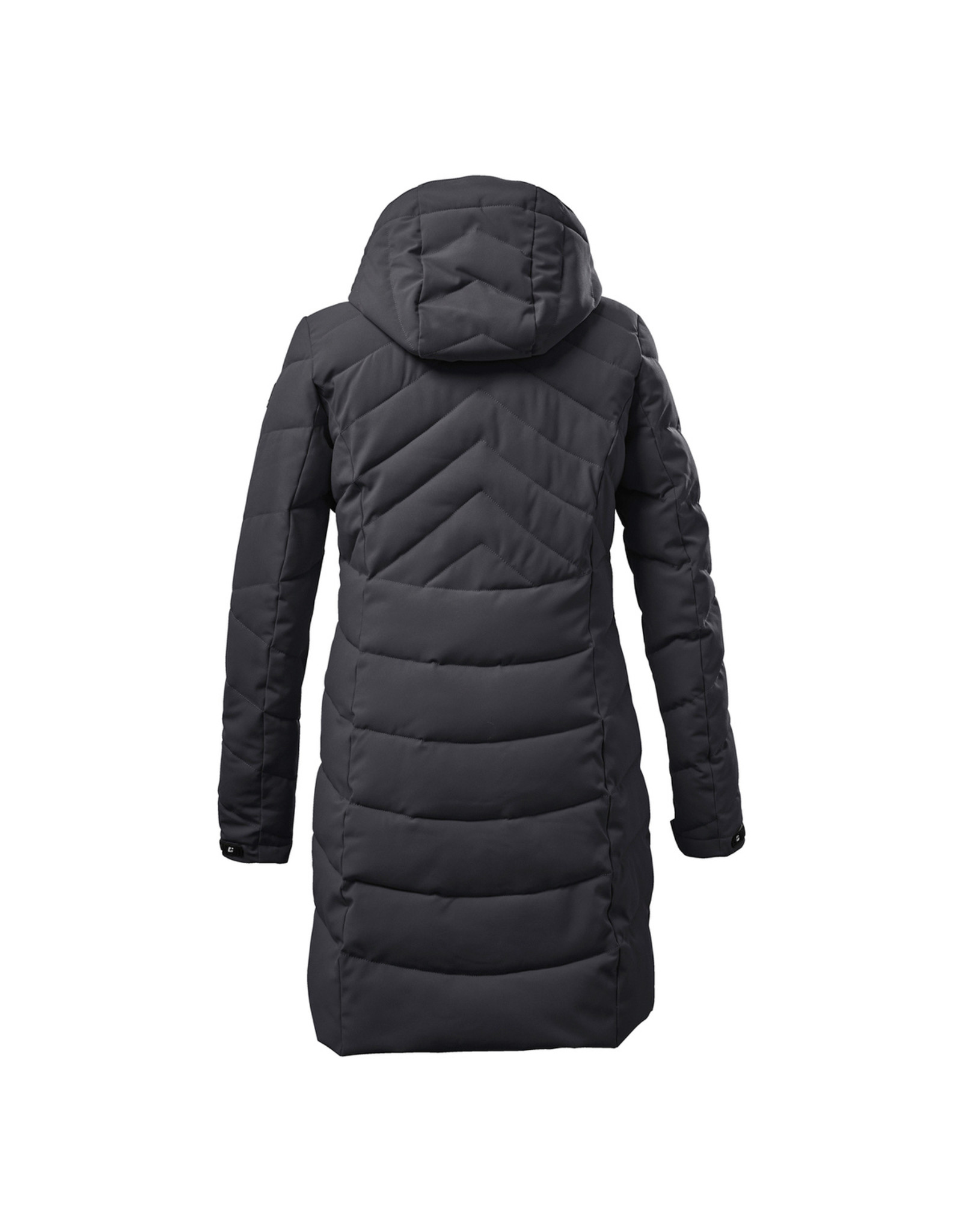 KILLTEC PARKA IN DOWN LOOK WITH HOOD