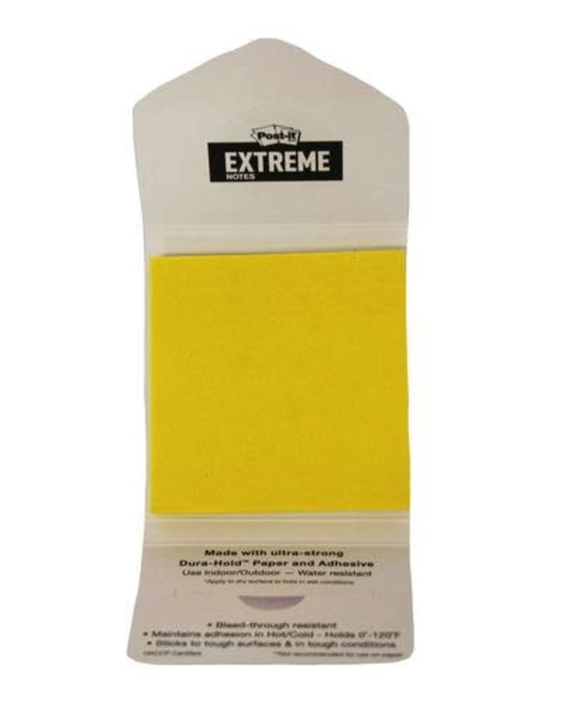 Post-It 02324 Extreme Post-It Notes w/ Cover