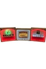 Neon Becks Logo Sign