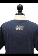 Next Level Vintage Foil Logo V-Neck T-Shirt