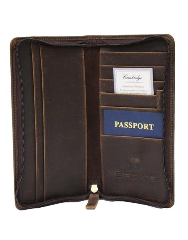 Cambridge Custom Zippered Travel Organizer