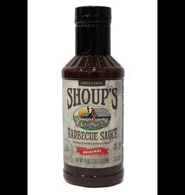 Shoups 01835 Shoup's BBQ Sauce 19 oz. Bottle