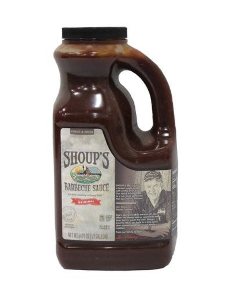 Shoups Shoup's BBQ Sauce 1/2 gallon