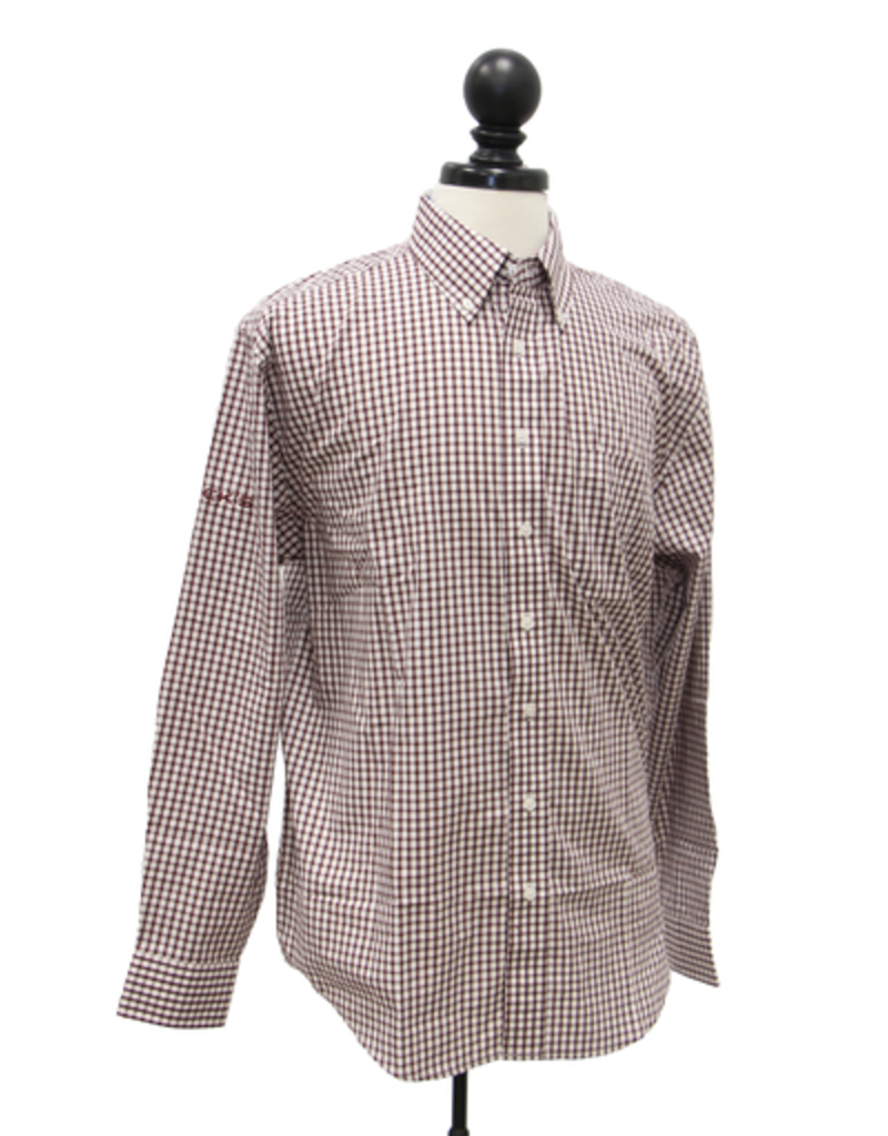 Vantage Easy-Care Gingham Check Shirt