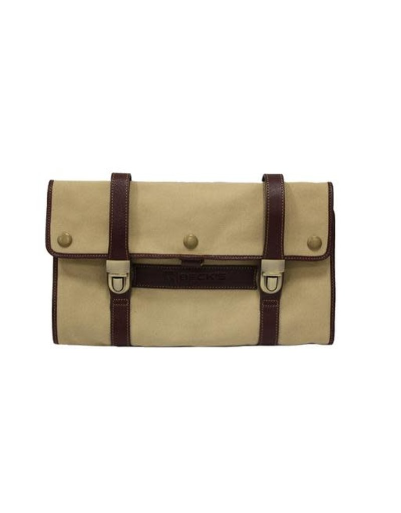 N/A Heavy Canvas Hanging Dopp Kit