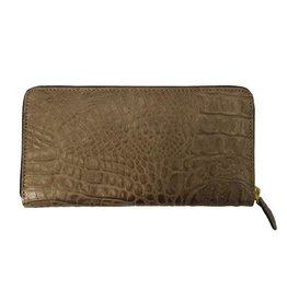 N/A Italian Croc Leather Ladies Purse