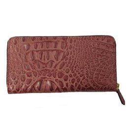 N/A Italian Croc Leather Womens Wallet