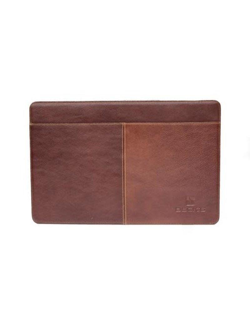 N/A Leather Accordion File