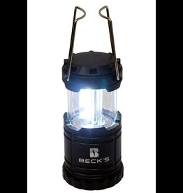 N/A Retractable LED Black Lantern
