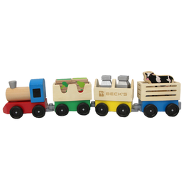 Melissa & Doug 01794 Melissa & Doug Wooden Farm Train Toy Set