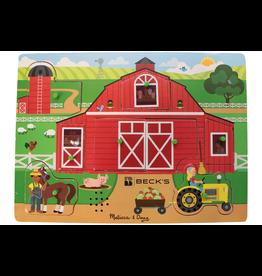 Melissa & Doug Melissa & Doug Around the Farm Sound Puzzle