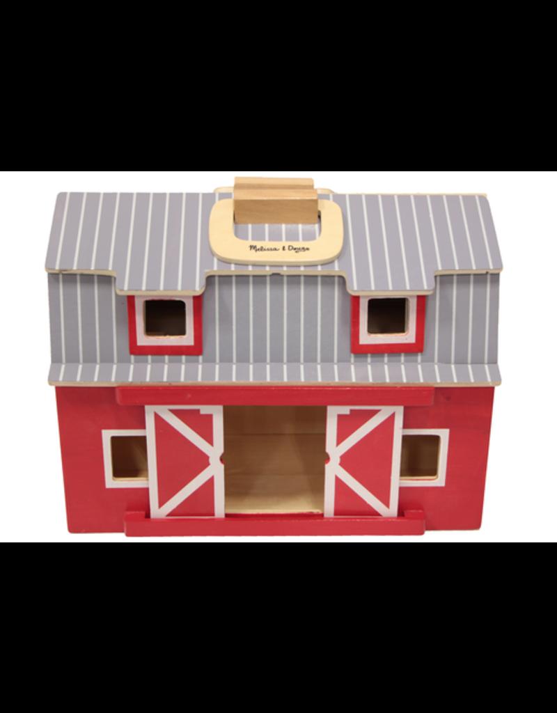 Melissa & Doug Melissa & Doug Fold & Go Wooden Barn 01458