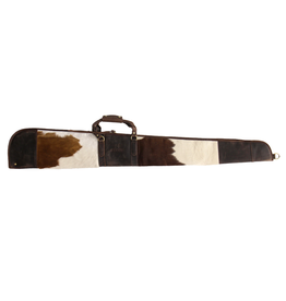 Cambridge Cambridge Leather Hair-On Hide Shotgun Case