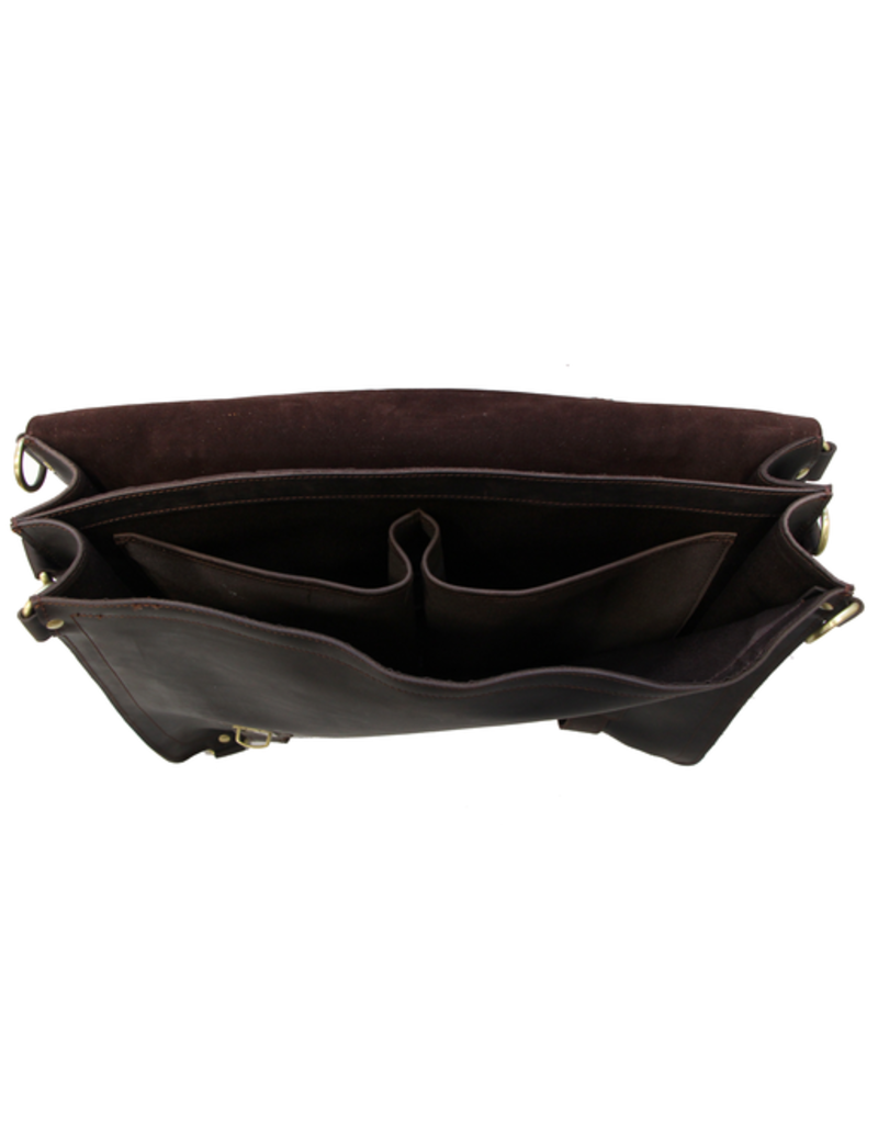 CUSTOM Leather Briefcase